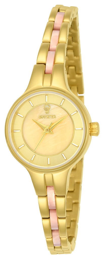 Invicta Women's 23321 Gabrielle Union Quartz 3 Hand Gold Dial Watch