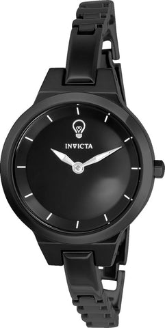 Invicta Women's 23325 Gabrielle Union Quartz 2 Hand Black Dial Watch
