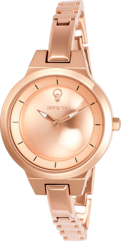 Invicta Women's 23327 Gabrielle Union Quartz 2 Hand Rose Gold Dial Watch