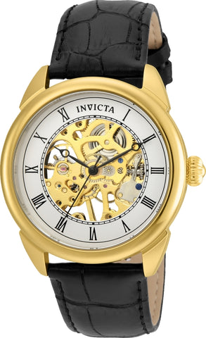 Invicta Men's 23535 Specialty Mechanical 3 Hand Silver Dial Watch
