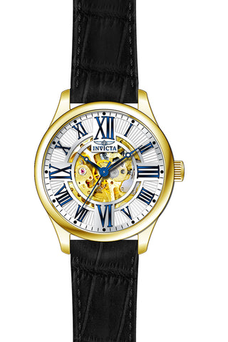 Invicta Men's 23635 Vintage Automatic 3 Hand Silver Dial Watch