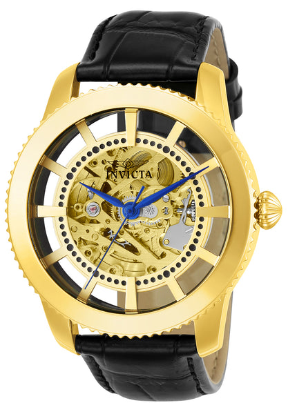 Invicta Men's 23638 Vintage Automatic 3 Hand Gold Dial Watch