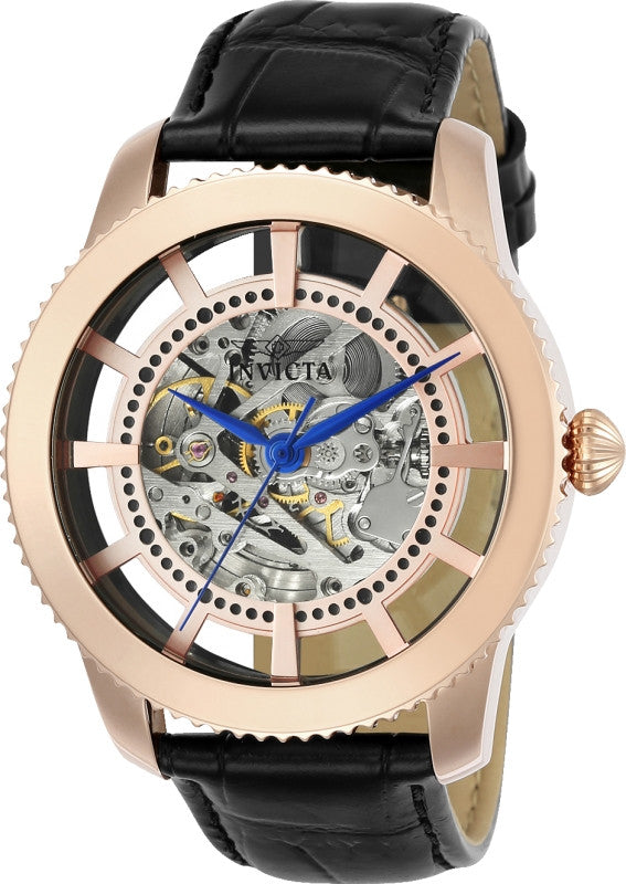 Invicta Men's 23639 Objet D Art Automatic 3 Hand Rose Gold Dial Watch