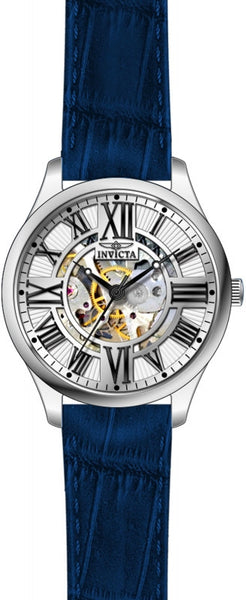 Invicta Men's 23658 Vintage Automatic 3 Hand Silver Dial Watch