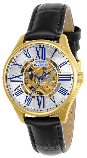 Invicta Women's 23659 Vintage Automatic 3 Hand Silver Dial Watch