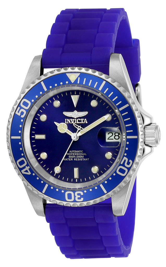 Invicta Men's 23679 Pro Diver Automatic 3 Hand Blue Dial Watch