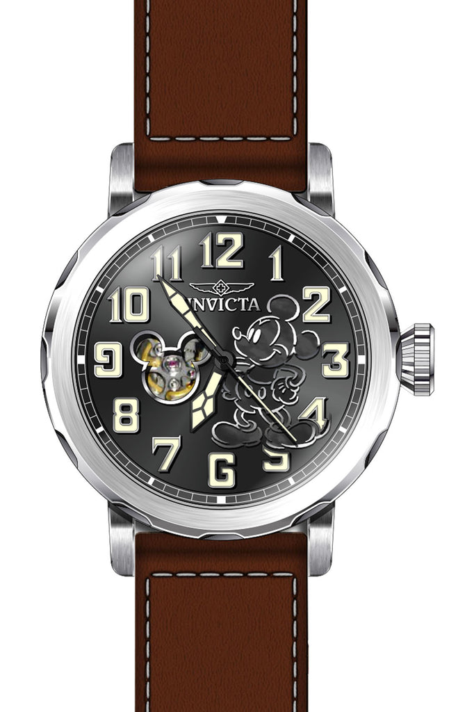 Invicta Men's 23794 Disney Automatic 3 Hand Black Dial Watch