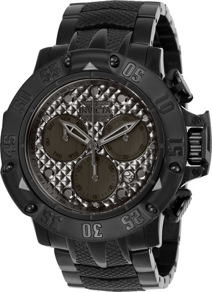Invicta Men's 23808 Subaqua Quartz Chronograph Gunmetal Dial Watch