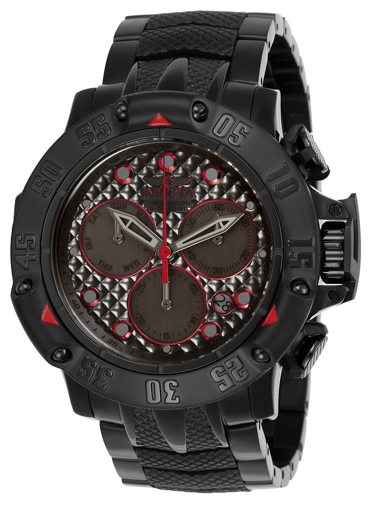 Invicta Men's 23809 Subaqua Quartz Chronograph Gunmetal Dial Watch