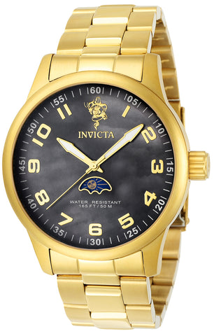 Invicta Men's 23826 Sea Base Quartz 3 Hand Black Dial Watch