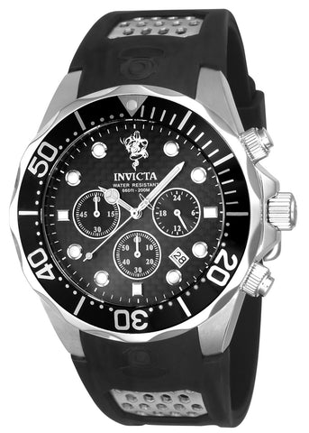 Invicta Men's 23875 Sea Base Quartz Multifunction Black Dial Watch