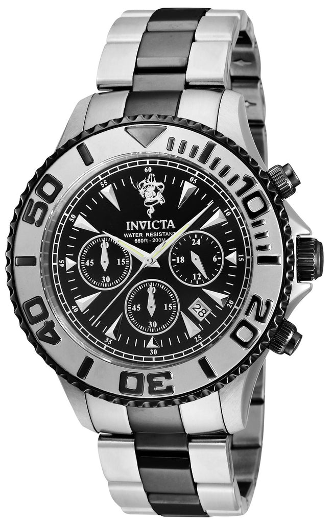 Invicta Men's 23880 Sea Base Quartz Multifunction Black Dial Watch