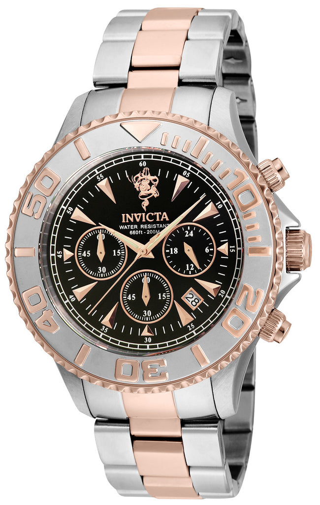 Invicta Men's 23882 Sea Base Quartz Multifunction Black Dial Watch