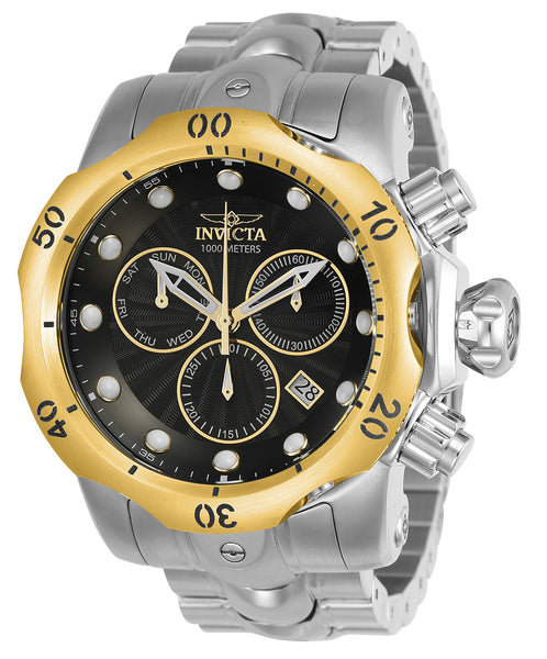 Invicta Men's 23889 Venom Quartz Chronograph Black Dial Watch