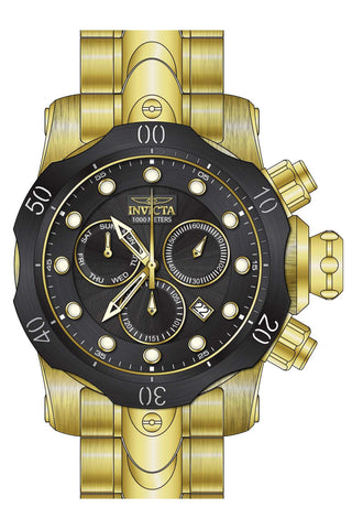 Invicta Men's 23892 Venom Quartz Chronograph Black Dial Watch