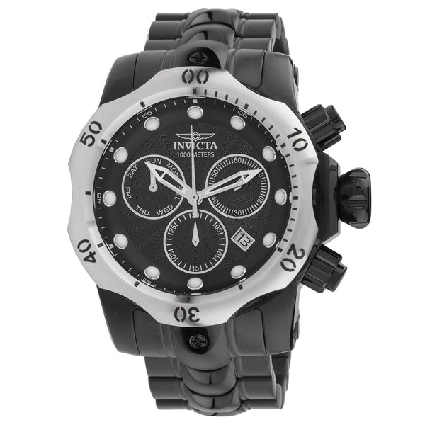 Invicta Men's 23897 Venom Quartz Chronograph Black Dial Watch