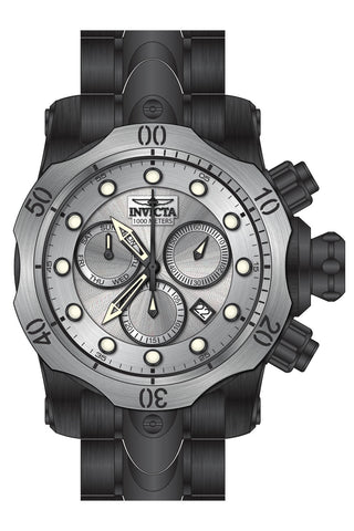 Invicta Men's 23898 Venom Quartz Chronograph Antique Silver Dial Watch