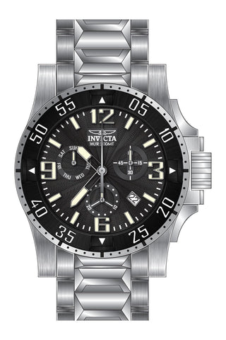 Invicta Men's 23900 Excursion Quartz Chronograph Black Dial Watch