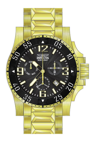 Invicta Men's 23903 Excursion Quartz Chronograph Black Dial Watch