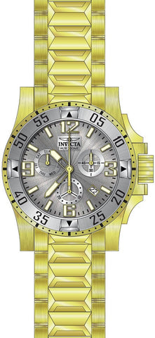 Invicta Men's 23905 Excursion Quartz Chronograph Silver Dial Watch