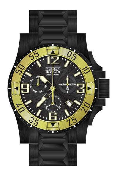 Invicta Men's 23906 Excursion Quartz Chronograph Black Dial Watch