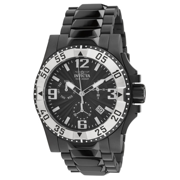 Invicta Men's 23907 Excursion Quartz Chronograph Black Dial Watch