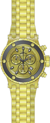 Invicta Men's 23922 Subaqua Quartz Chronograph Gold Dial Watch