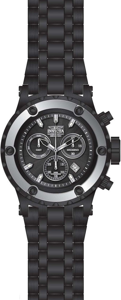 Invicta Men's 23925 Subaqua Quartz Chronograph Black Dial Watch
