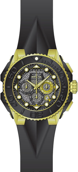 Invicta Men's 23961 Coalition Forces Quartz Chronograph Black Dial Watch