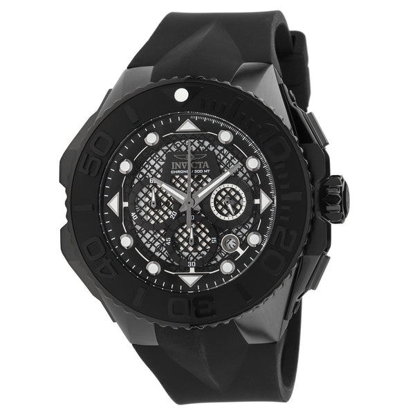 Invicta Men's 23963 Coalition Forces Quartz Chronograph Black Dial Watch