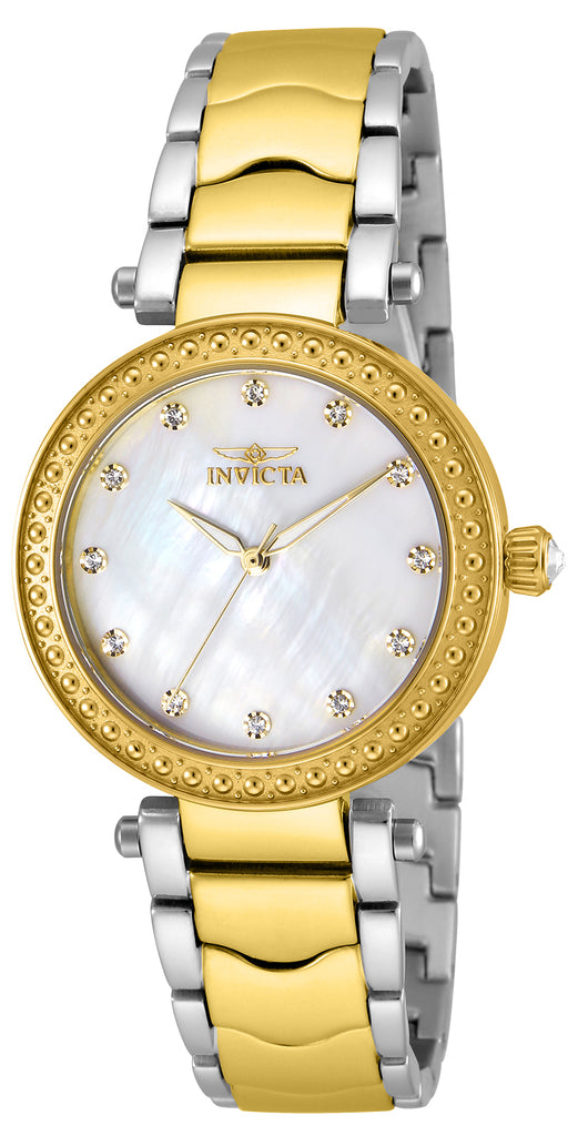 Invicta Women's 23965 Wildflower Quartz 3 Hand White Dial Watch