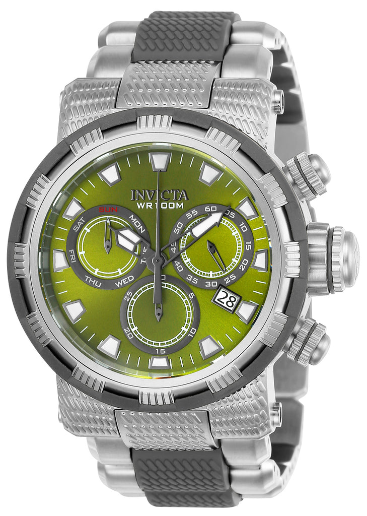 Invicta Men's 23989 Specialty Quartz Chronograph Olive Green Dial  Watch