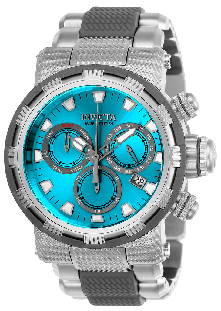 Invicta Men's 23990 Specialty Quartz Chronograph Blue Dial  Watch