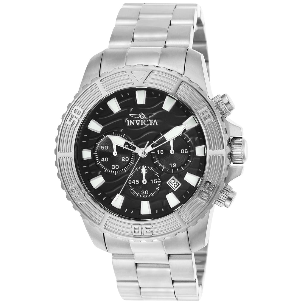 Invicta Men's 23998 Pro Diver Quartz Multifunction Black Dial Watch