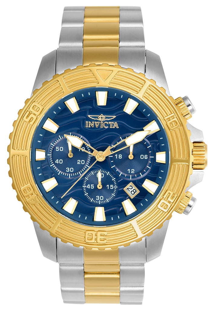 Invicta Men's 24002 Pro Diver Quartz Multifunction Blue Dial Watch