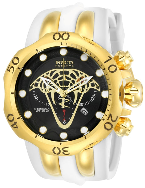 Invicta Men's 24066 Reserve Quartz Multifunction Black Dial Watch