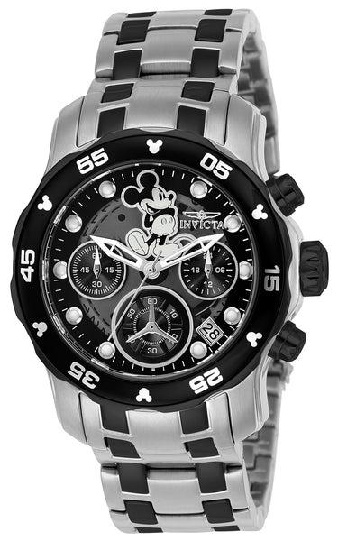 Invicta Women's 24131 Disney Quartz Chronograph Black Dial Watch
