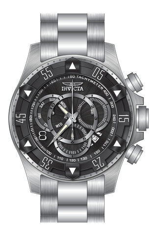 Invicta Men's 24261 Excursion Quartz Multifunction Black Dial Watch