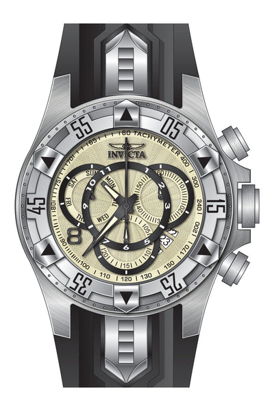 Invicta Men's 24270 Excursion Quartz Multifunction White Dial Watch