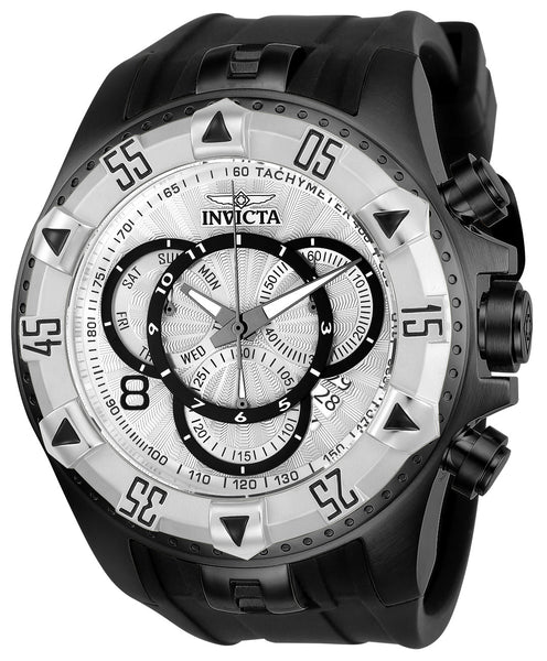 Invicta Men's 24278 Excursion Quartz Multifunction Silver Dial Watch