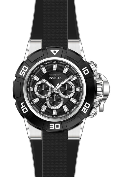 Invicta Men's 24385 I-Force Quartz Chronograph Black Dial Watch