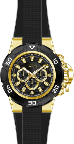 Invicta Men's 24388 I-Force Quartz Multifunction Black Dial Watch