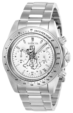 Invicta Men's 24398 Disney Quartz Chronograph White Dial Watch