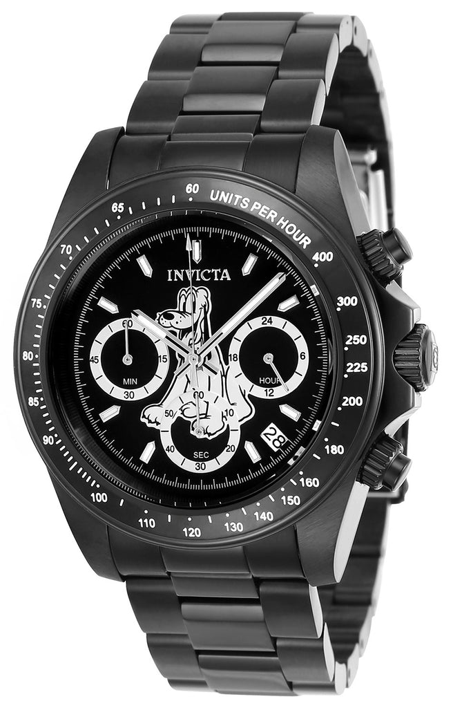 Invicta Men's 24399 Disney Quartz Chronograph Black Dial Watch