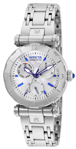 Invicta Women's 24427 Subaqua Quartz Chronograph White Dial Watch