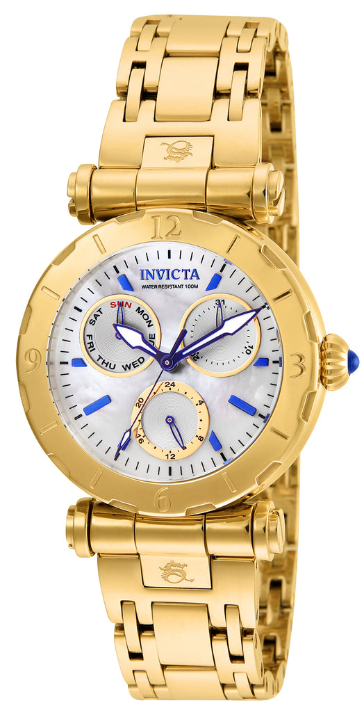 Invicta Women's 24428 Subaqua Quartz Chronograph White Dial Watch