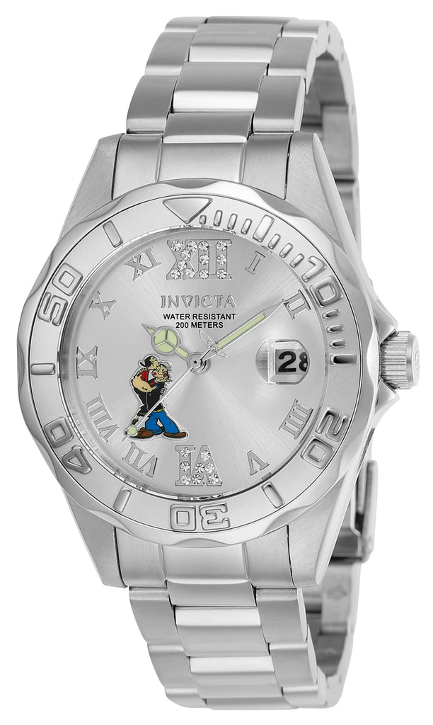 Invicta Women's 24472 Character Quartz 3 Hand Silver Dial Watch