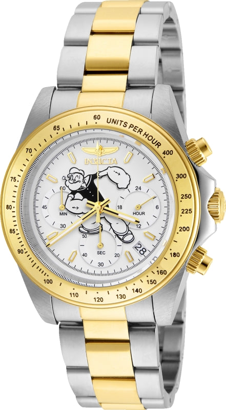 Invicta Men's 24483 Character  Quartz Multifunction White Dial Watch