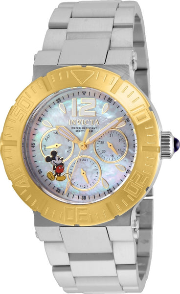 Invicta Women's 24498 Disney Quartz Chronograph White Dial Watch