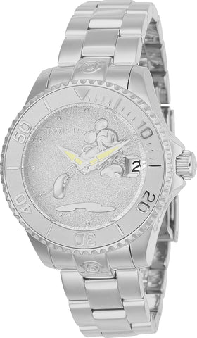 Invicta Women's 24532 Disney  Automatic 3 Hand Silver Dial Watch